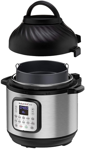 Instant Pot Duo Crisp 11-in-1 Electric Cooker with Air Frying