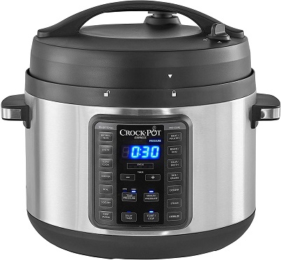 Crock-Pot 2097588 10-Qt. Express Crock Multi-Cooker