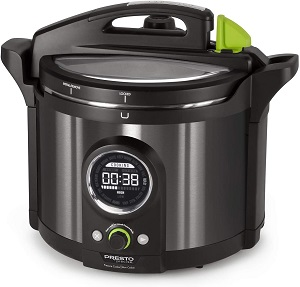 National Presto Precise 02143 Multi-uses Programmable Plus 10-Quart Electric Pressure Cooker